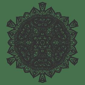 Yoga at work - mandala